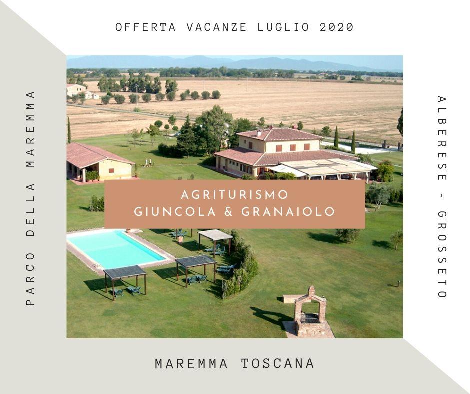 agriturismo-maremma-offerta Luglio 2020 Vacanze in Maremma Toscana